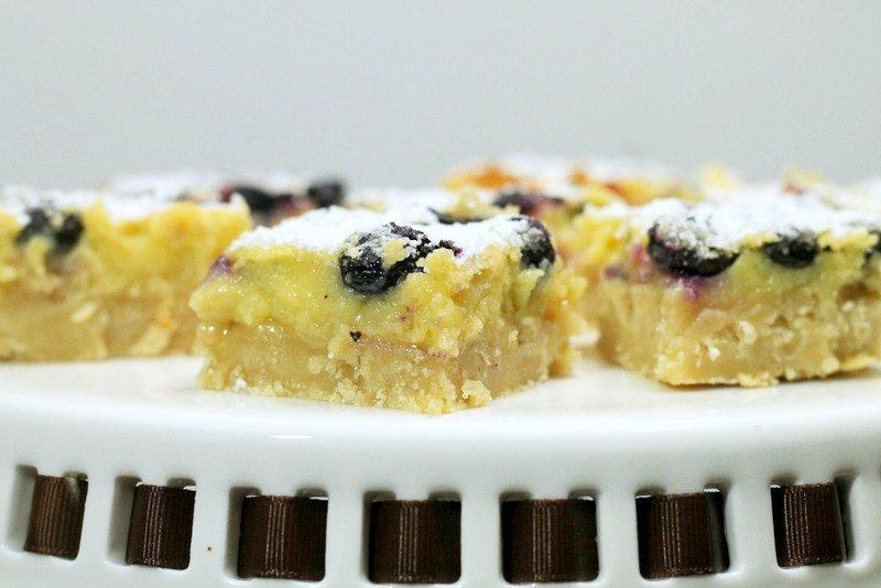 Meyer Lemon Blueberry Bars - A Delicious Lemon Bars Recipe