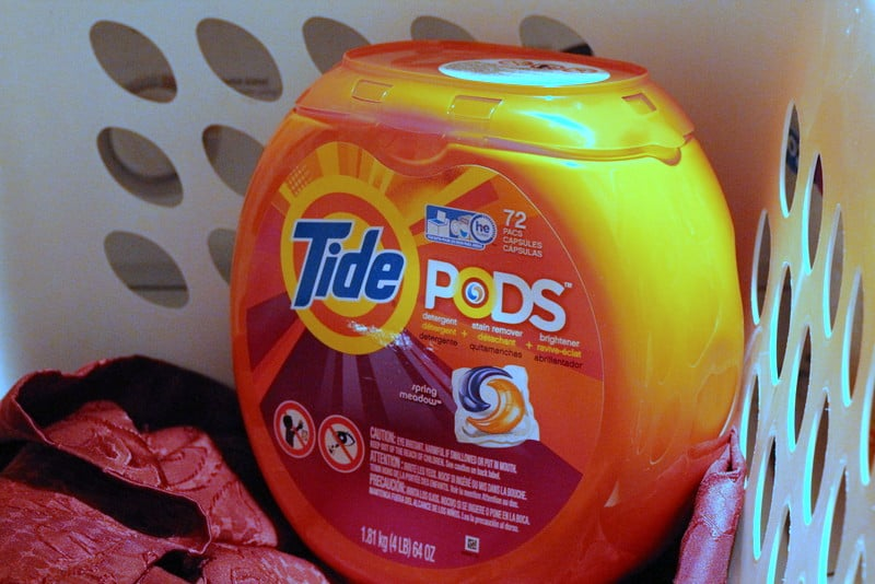 Tide PODS for Game Day Prep