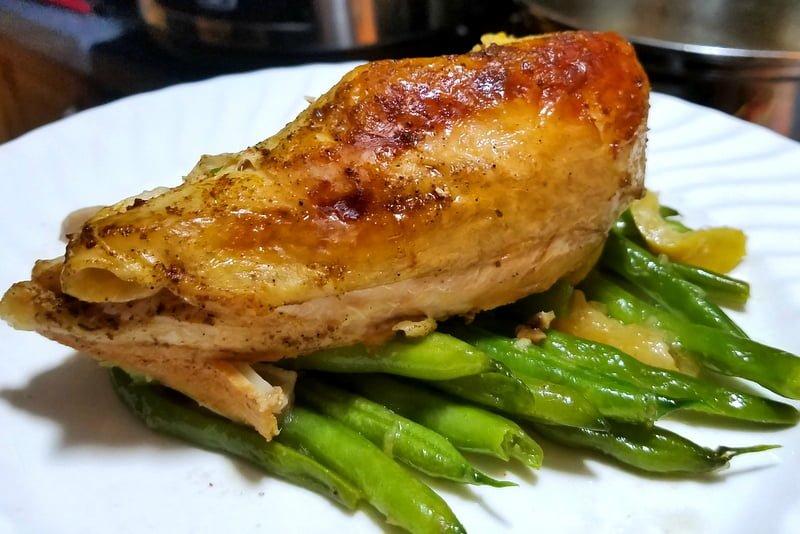 Slow Cooker Lemon Ginger Roast Chicken Recipe Prep 3