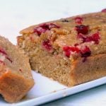 Whole Wheat Cranberry Quick Bread 1