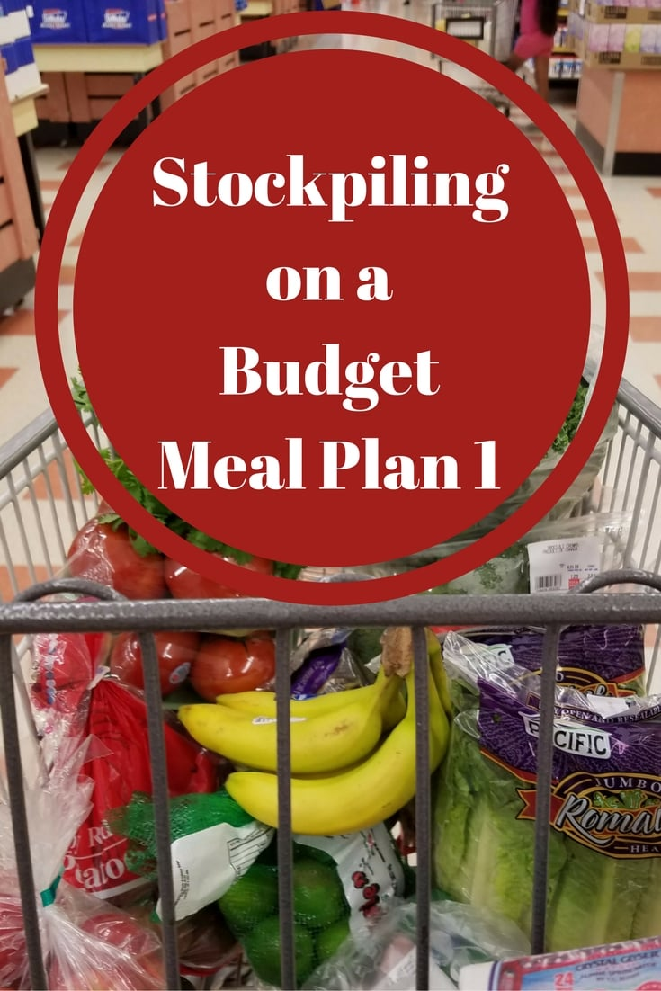 Stockpiling on a Budget Meal Plan 1