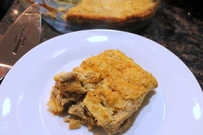 Acorn Squash and Apple Egg Bake Recipe