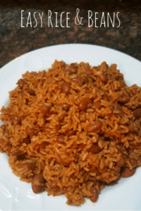 Easy Rice and Beans Recipe