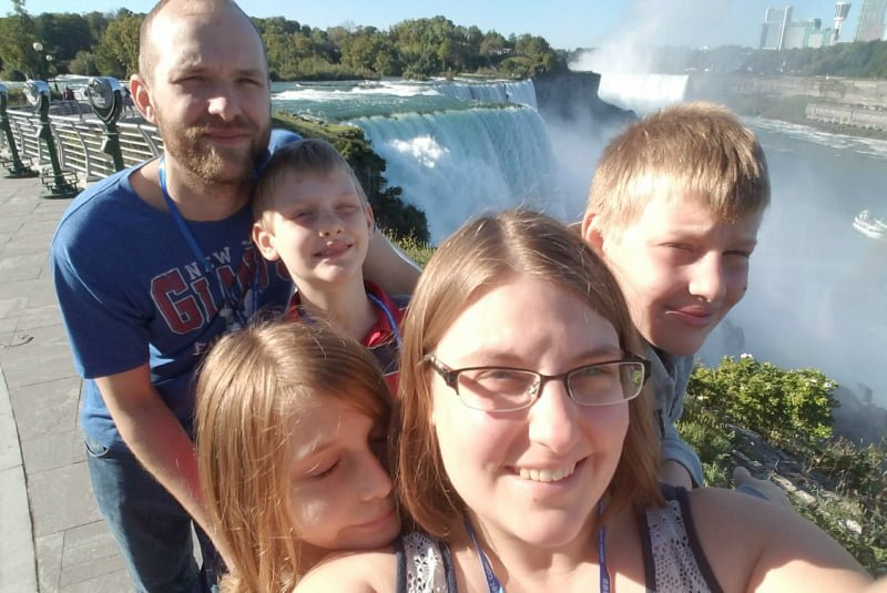 family picture niagara falls ny
