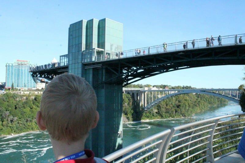 Niagara Falls Family Road Trip Observation Deck