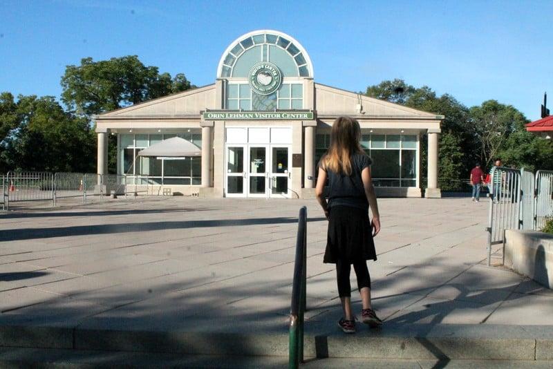 Niagara Falls Family Road Trip Visitor's Center