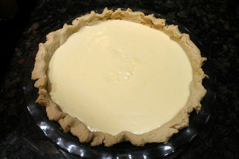 White Chocolate Cranberry Pie Step 7