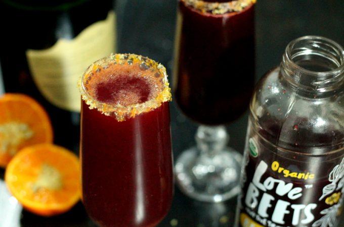 Beet Ginger Tangerine Mimosa Recipe