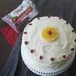 Cranberry Orange Cake - All Natural Cake Decor