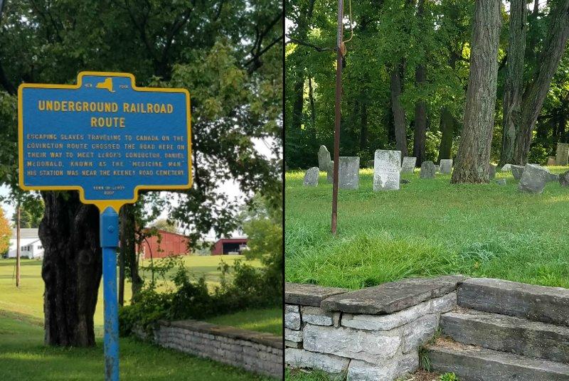 RTKB Travels Underground Railroad Driving Tour LeRoy NY 4