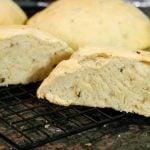 roasted mushroom cheddar bread recipe