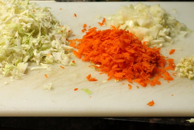 Egg Roll Stir Fry Ingredients