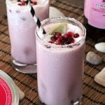 Pomegranate Coconut Creamsicle Cocktail Recipe