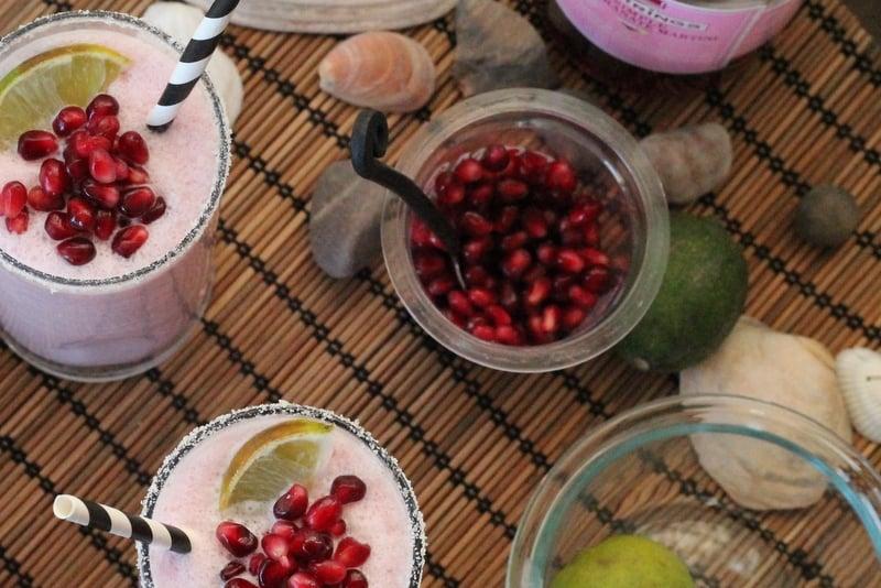 Pomegranate Coconut Creamsicle Cocktail Recipe 3