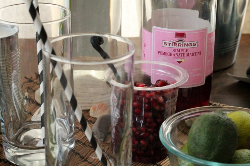 Pomegranate Coconut Creamsicle Recipe