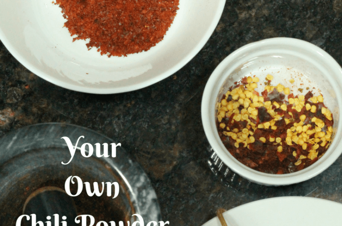 How to Make Your Own Chili Powder