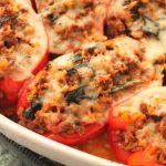 Stuffed Peppers Recipe with Beef