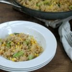 Chicken, Asparagus, and Corn Quinoa Bowl Recipe