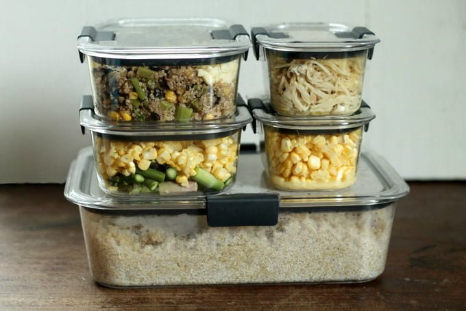 Meal Prep with Rubbermaid BRILLIANCE 4
