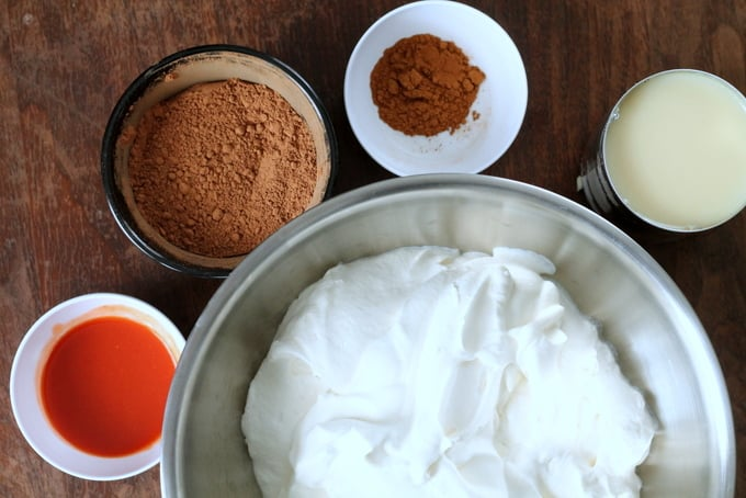 Mexican Chocolate No-Churn Ice Cream Recipe 2 Ingredients