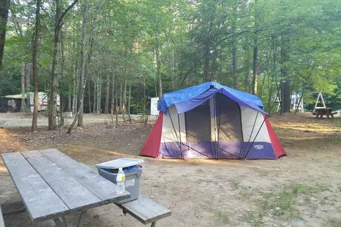 camping budget friendly lodging
