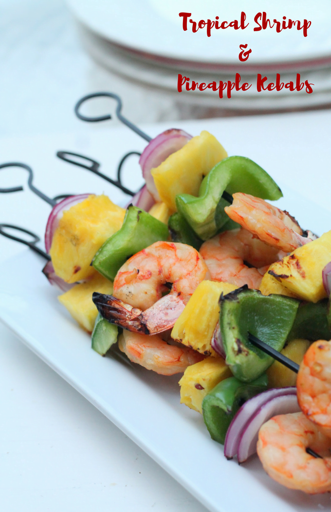 Tropical Shrimp and Pineapple Kebab Recipe