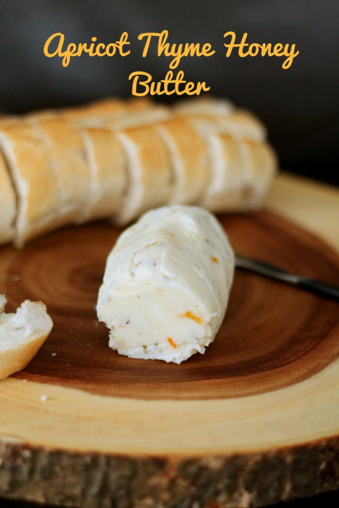 Apricot Thyme Honey Compound Butter Recipe Main