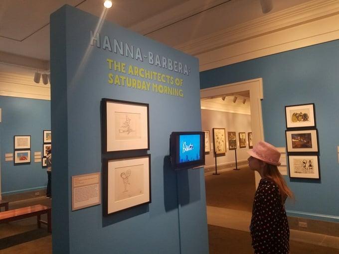 Hanna-Barbera Exhibit Norman Rockwell Museum