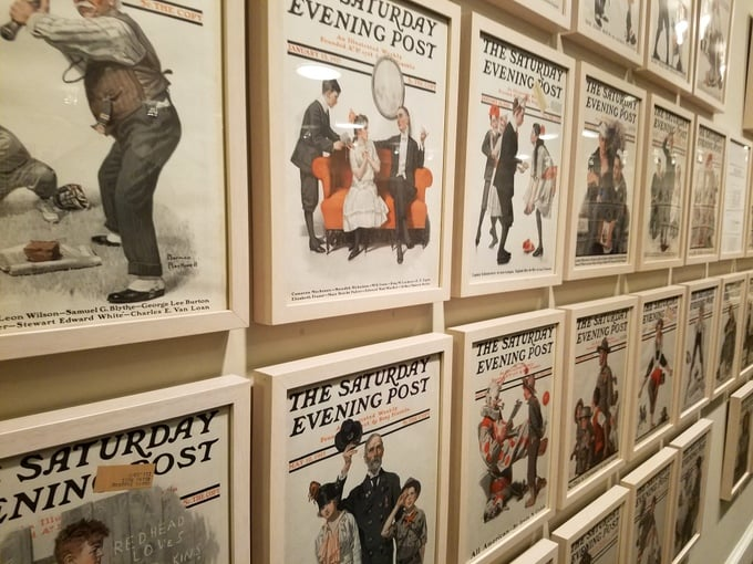 Norman Rockwell Saturday Evening Post covers