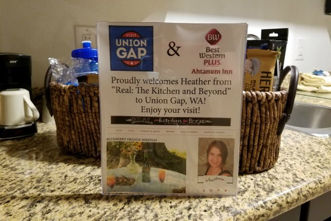Union Gap Tourism Board Welcome