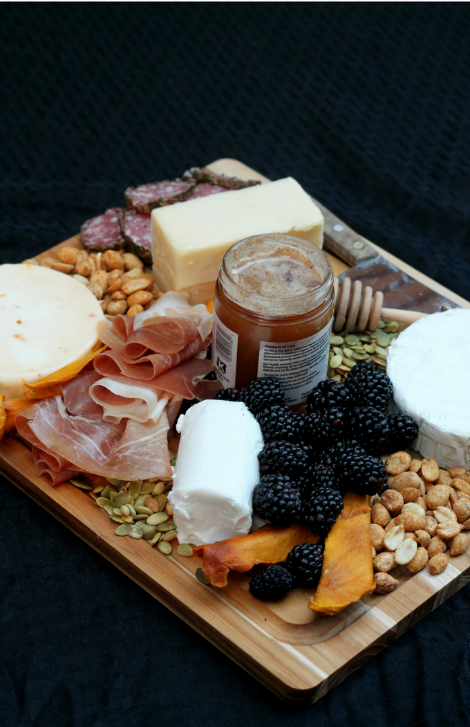 How to make a cheese platter quick Pinterest