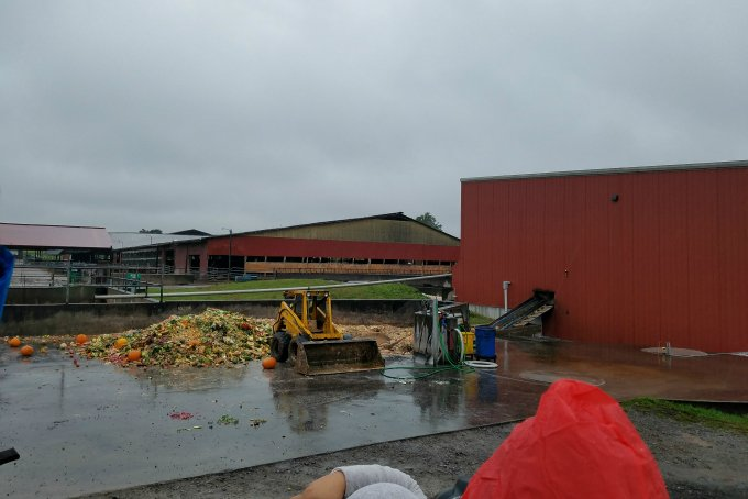 Food Digester at Noblehurst Dairy Farm