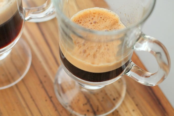espresso for Eggnog Latte Recipe