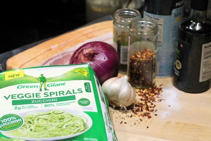 Green Giant Veggie Spirals Zucchini Noodles Recipe Ingredients