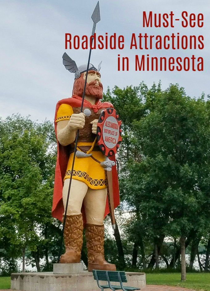 Must-see Roadside Attractions Minnesota Big Ole