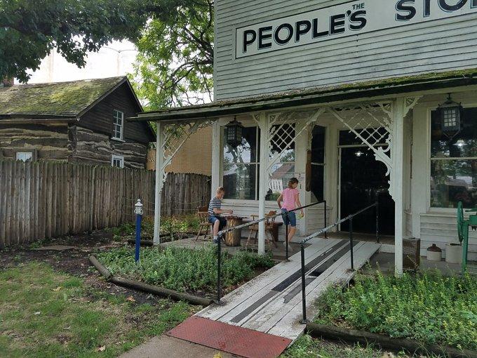 Pioneer Village Minden NE General Store