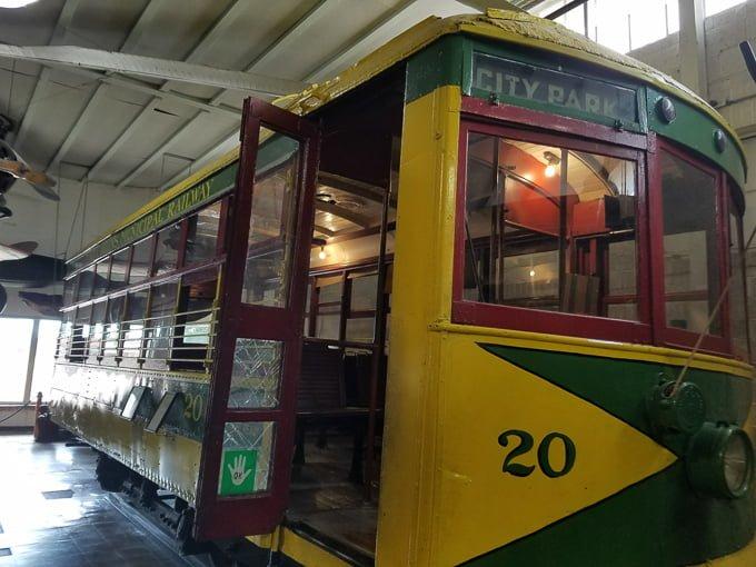 Pioneer Village Minden NE Trolley