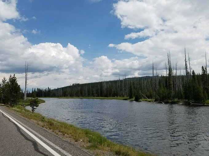 Yellowstone in a Day Family Travel water