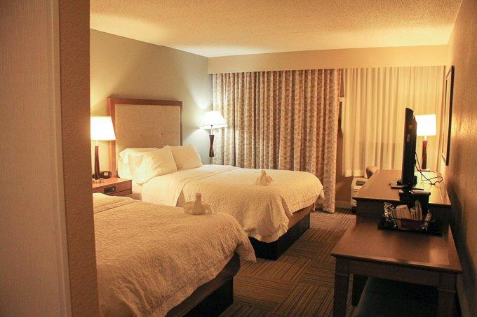 Hampton Inn 2 Queen Bed Room
