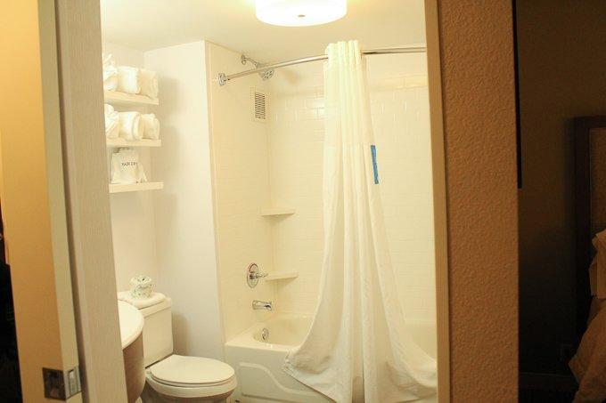 Hampton Inn Bathroom 1