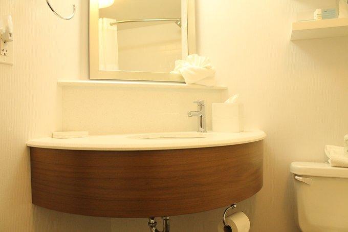 Hampton Inn Bathroom 2