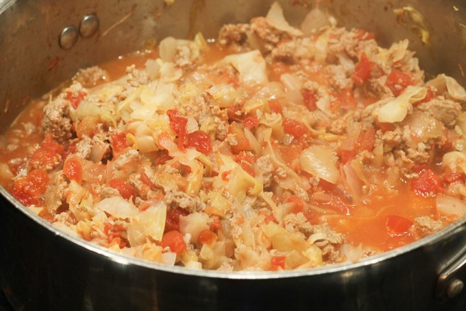 Cabbage Roll Casserole Ingredients Cooking