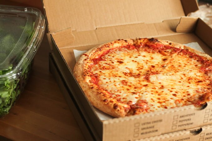 Whats for dinner tonight pizza