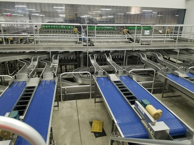 Cherry Packing Line