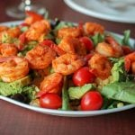 Garlic Sriracha Shrimp Salad Recipe