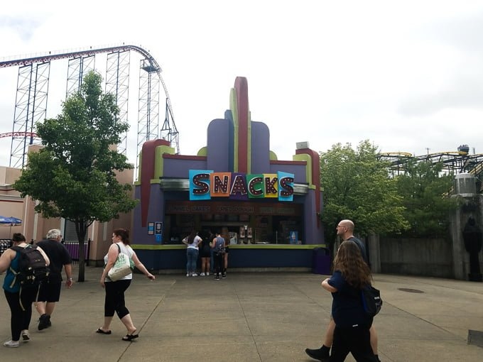 Six Flags New England Concessions