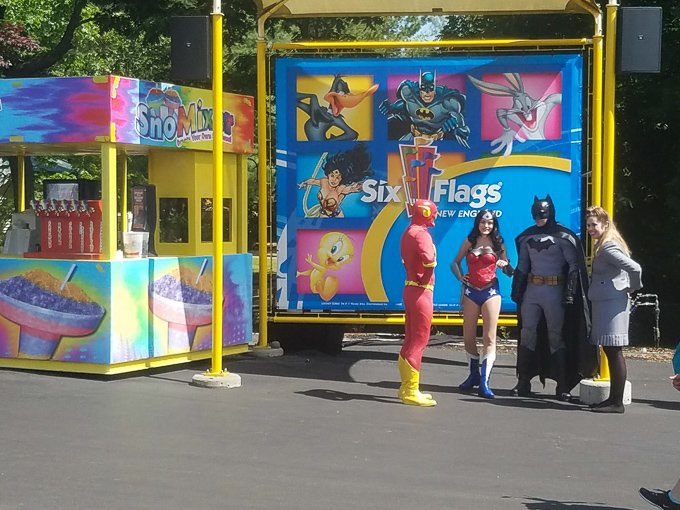 Six Flags New England Super Heroes
