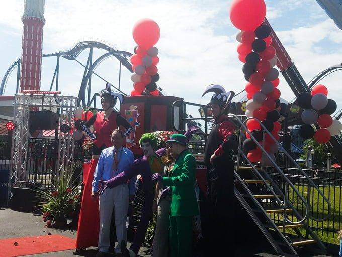 Six Flags New England Batman Characters