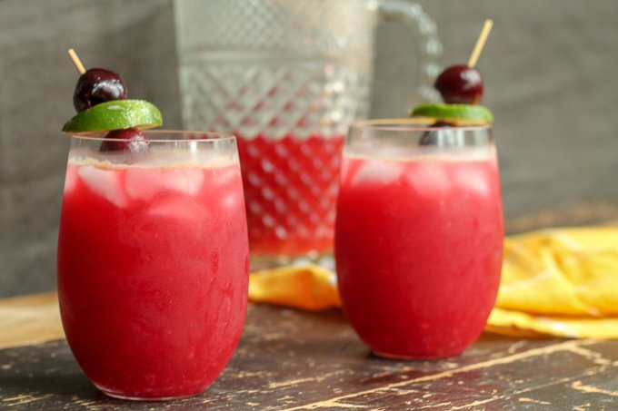 Cherry Limeade Recipe