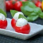 Caprese Bites Stuffed Tomato Recipe